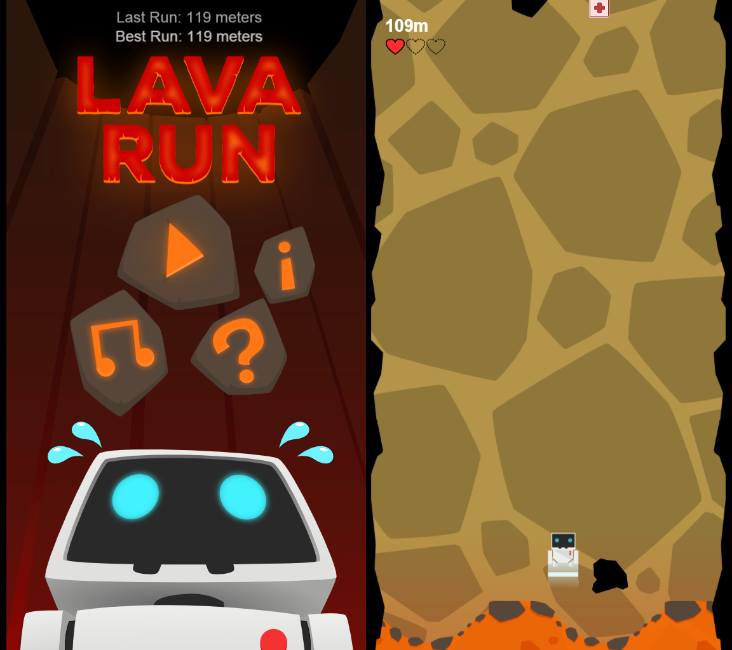 Infinite lava source | How to create infinite lava, not for power