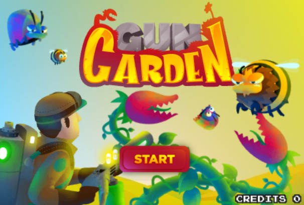 Play Gun Garden Game