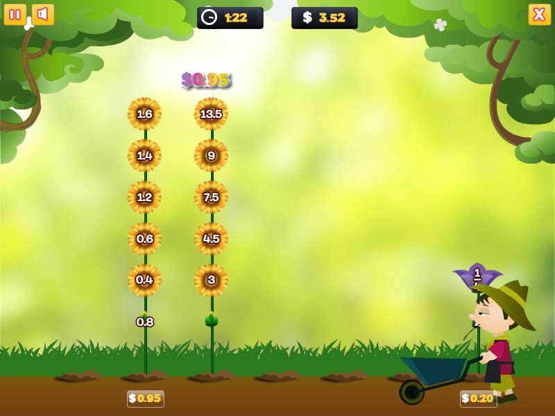 Phaser - News - Flower Power: Grow the flowers, solving the sums ...