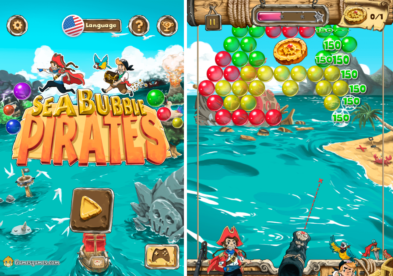 Bubble Pirates