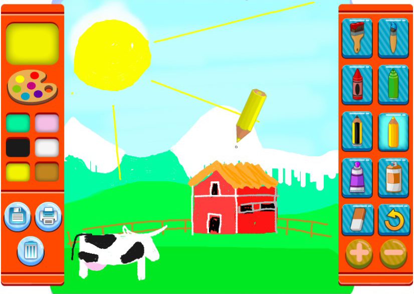 Phaser - News - Paint Online: Let your kids unleash their creative ...