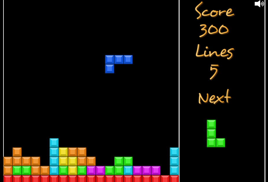 Phaser - News - Example Tetris: A full-featured open source Tetris