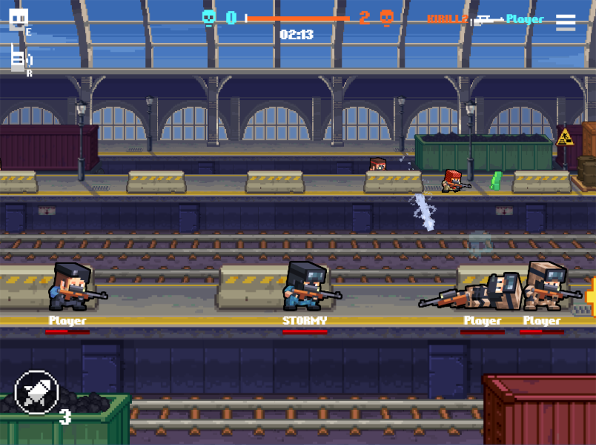 Phaser - News - Gunfight io: Select your team Counter