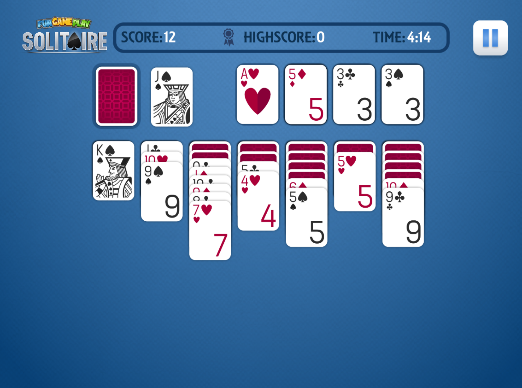 Funny Games Solitaire Funny Games Patience