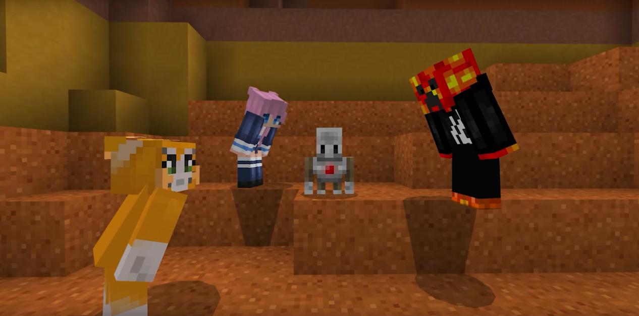 Phaser - News - Minecraft: Hero's Journey: Minecraft is back