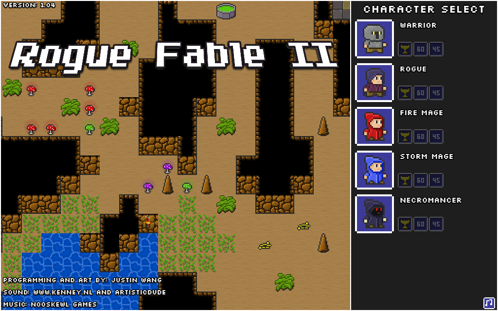 Phaser - News - Rogue Fable II: Lose yourself in this