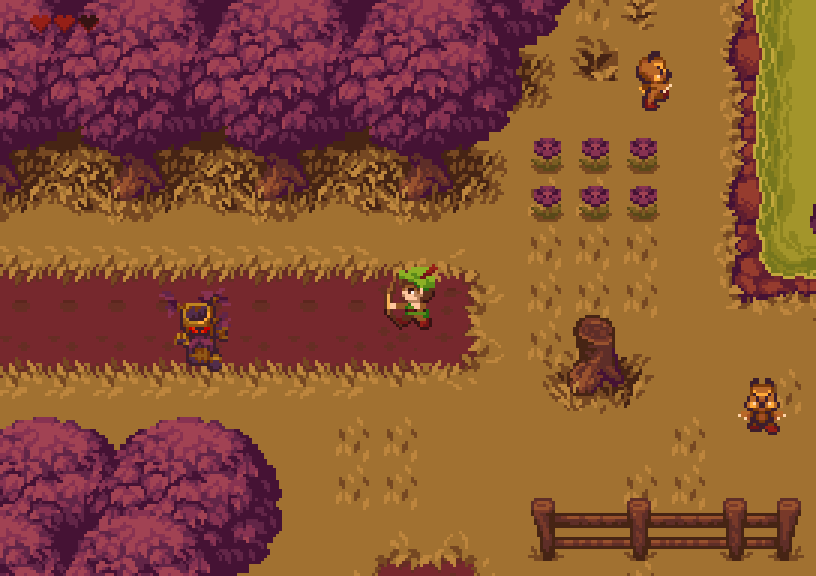 Phaser - News - Tiny RPG Forest: A top-down RPG / Adventure