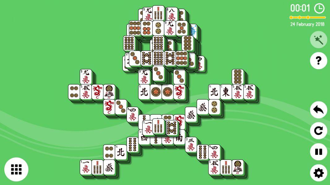 Phaser - News - Online Mahjong Solitaire: The classic tile