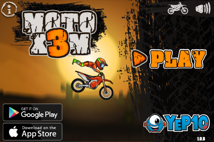 Moto X3m Is An Awesome Bike Racing With 25 Challenging Levels So Grab Your Motorbike Helmet And Some Airtime Over Obstacles