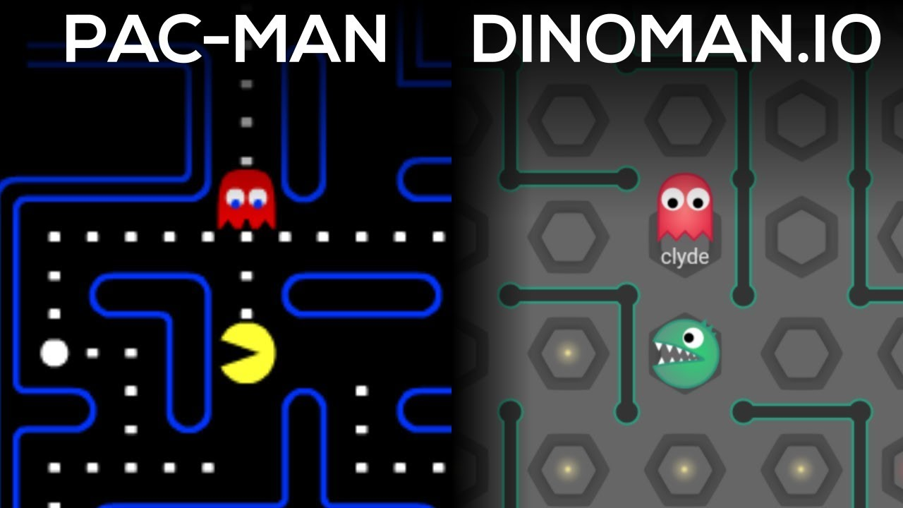 Phaser - News - Coding Multiplayer Pacman in One Week: A video
