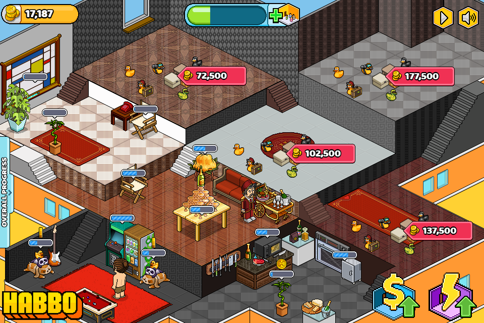 habbo automatic games