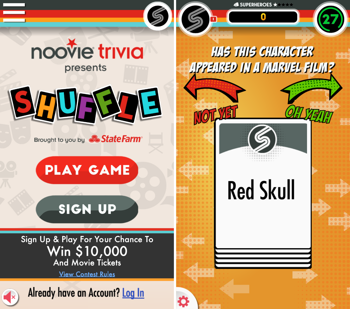 Phaser - News - Noovie Trivia Shuffle: Test your Movie IQ in this