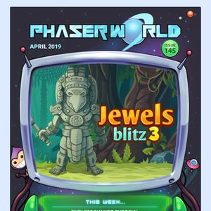 Phaser - Community - Phaser World Back Issues