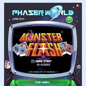 Phaser - Community - Phaser World Back Issues